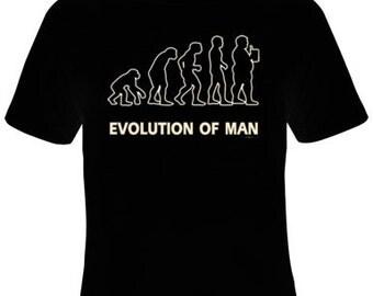 Evolution of Man T-Shirt Men's Sizes