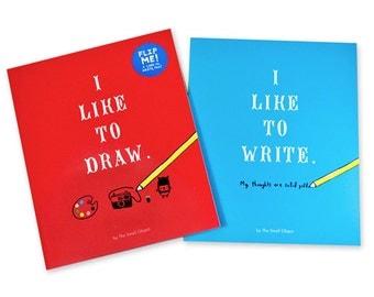 I Like to Draw / I Like To Write Activity Book