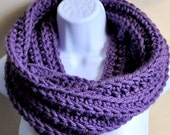 Luxurious Ribbed Infinity Scarf - Made to Order