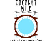 Coconut Milk, a Silky Shaving Soap with Cocoa Butter and Jojoba Oil