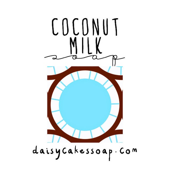 Coconut Milk, a Scrubby, Scrumptious Soap with Cocoa Butter and Jojoba Oil