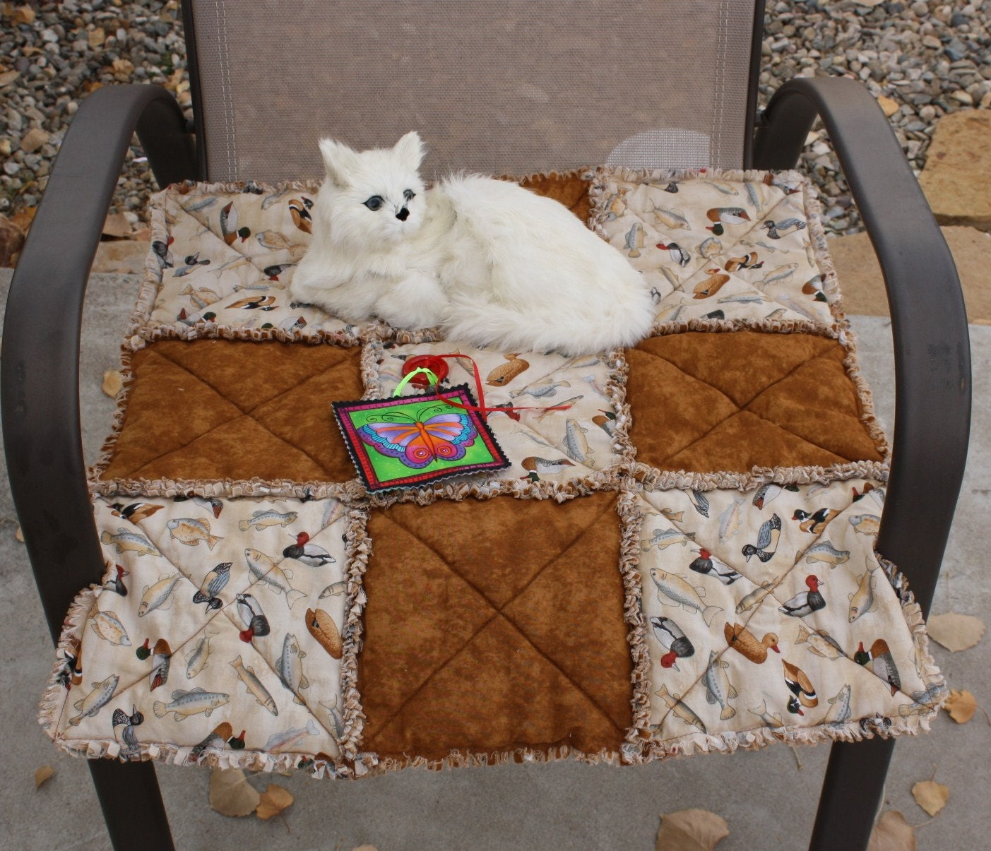 Cat Blanket Brown Cat Blanket Boy Cat Blanket Ducks And
