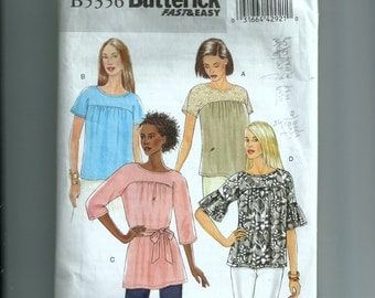 Butterick Misses' Top and Sash Pattern B5356