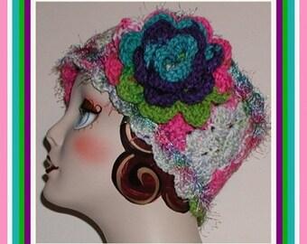 Ski Head Band Purple Pink Headband Multi Colored Colors Ear Warmer Teal Turquoise Green