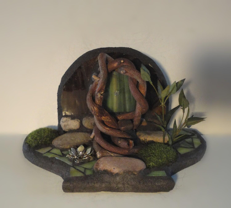 Sale the forest floor garden sculpture 3d fairy door for Fairy doors for sale