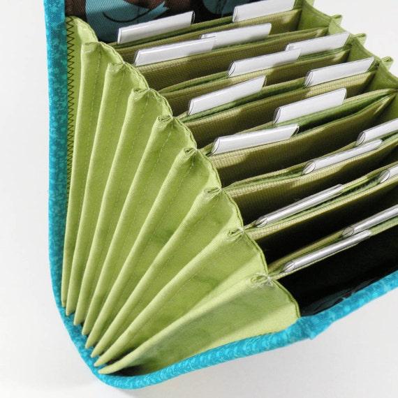 Knitting Needle Storage Diy : Pdf sewing pattern circular needle organizer knitting