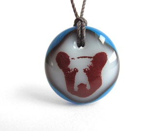 Bear Necklace - Animal Jewelry, Photo Stencil, Woods, Wild, Forest, Storybook