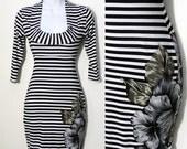 Naughtycal Flowers mini dress - made to order