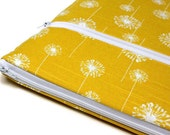 "MacBook 12 inch MacBook Pro Case 13"" Laptop Cover Sleeve for Women or Girls - Yellow Dandelions"