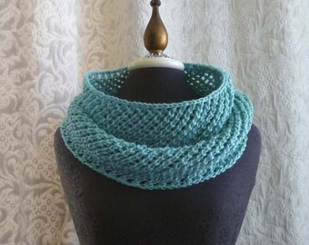 Beach Glass Cowl - Holiday Gift for Her