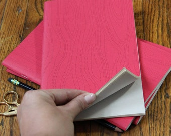 SALE- Woodgrain Patterned Notebook