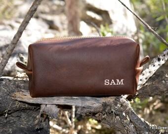 Groomsman Set - Arizona Leather Dopp Kit  - Discounted Listing for Multiple Bags
