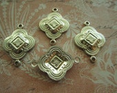 Art Deco Connectors Vintage Inspired Brass Links on Etsy x Quantity Choice