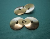 Cymbal Charms Drum Music Supplies Brass Findings on Etsy x 2 Pair