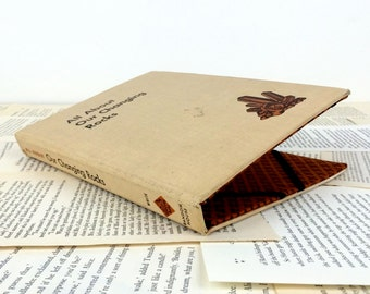 SALE-Our Changing Rocks Biblio Tech Cover - tablet cover made from recycled vintage book, fits Kindle Fire, 3G, Nook, iPad Mini