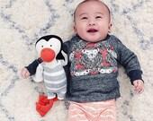 READY TO SHIP Lion baby toddler sweatshirt Supayana unisex