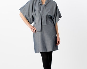Kimono Dress - Denim - in stock