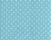 Gabbie Daisy Blue Fabric - Maude Asbury for Blend Fabrics - Premium Cotton Quilting Fabric - One Yard