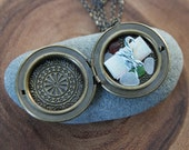 sea glass altar . a soul mantra necklace