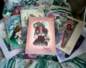 Blank Journal featuring artwork by mythic artist Mary Layton
