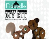 DIY Forest Fauna- Animal craft kit