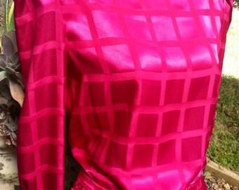 Vintage Sasson 1980s Magenta Dress 8/9 Mint Costume  epsteam Sale