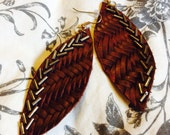 TINLEY Leather Earrings