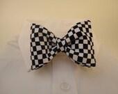 Checkerboard Bow Tie