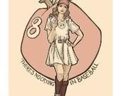 Queen of Diamonds Notecard (Item 05-081)