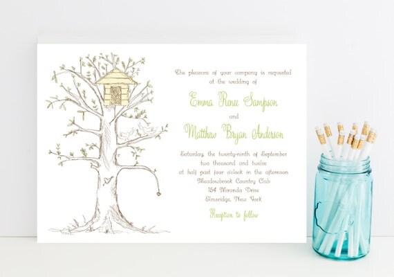 Sweet Wedding Invitation