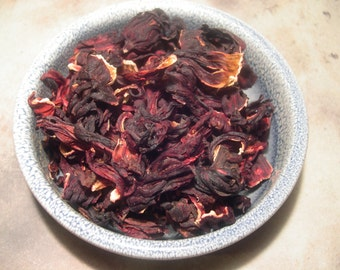 Hibiscus Flowers Whole, Lust, Love, Divination, Magical Herbs, Spell and Ritual Work