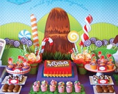 WONKA Inspired Party DELUXE Package - DIY Printable - Customised PDFs