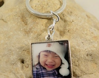 BESTSELLER - Double-sided Square Custom Photo Keychain