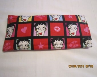 Betty Boop MEDIUM Cozy Comforts (filled with Flax Seed) Heat and Cold Packs (Unscented or Lavender)*