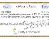 100 Dollar Gift Certificate for anything in my Etsy Shop