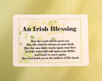 irish blessing etsy