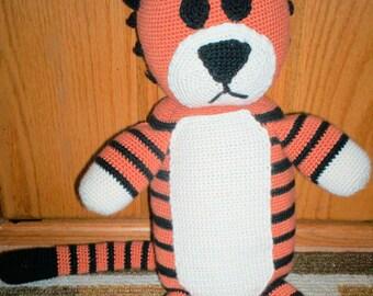 Imaginary Tiger Friend- crochet pattern