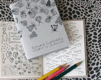 Natural Curiosity - Colouring Book