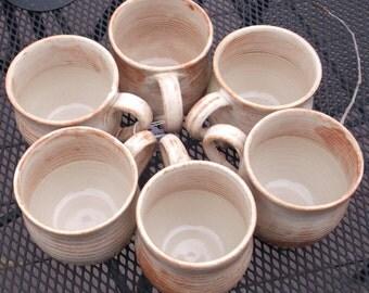 Coffee Mug Creamy COLORADO - Handmade Pottery