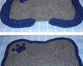 Crochet Pattern-Dog Bone Mat and Bed