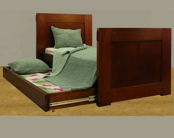 Trundle Bed made of Mahogany