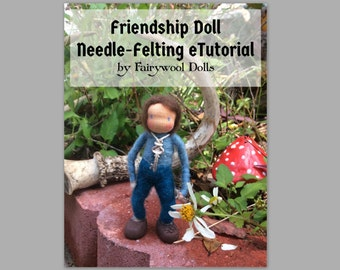 How To Needle Felt Tutorial Pattern Book Instructions Instant Digital Download