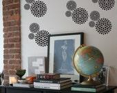 Mum 3 Repeat Pattern Wall Stencil- Reusable Craft &DIY Stencils- S1_PA_63 -11x11- By Stencil1