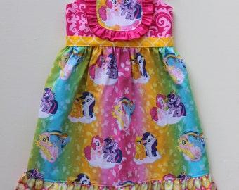 My Little Pony Rainbow Party Dress