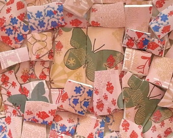 Mosaic Tiles--Bohemian Butterfly/Pink Delight--85 Tiles-Sale