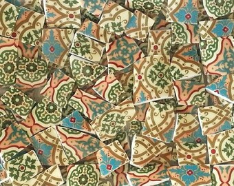 Mosaic Tiles--Palace Trellis--Moroccan Design--100 pieces