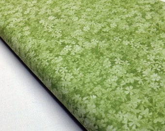 Green Fabric, Tonal Green Fabric, Tone on Tone Fabric, Robert Kaufman, Color Collage Fabric, Sew, Fabric By The Yard Online, Sewing Fabric,