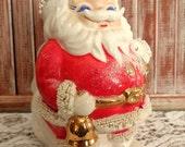 VINTAGE Santa Claus Programs COIN BANK