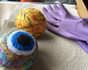 1 Large 65 mm A planet ball of your choice with raw silk - Powercord attachment is optional