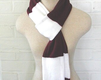 Striped School Scarf - Any Colors